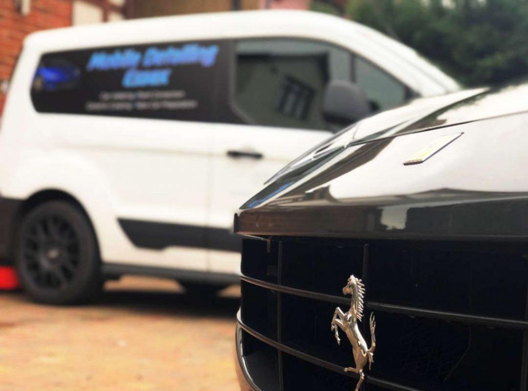 Mobile-Detailing-Essex-Customer-Ferrari-Prancing-Horse